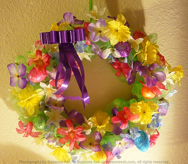 Easy Easter Wreath Craft