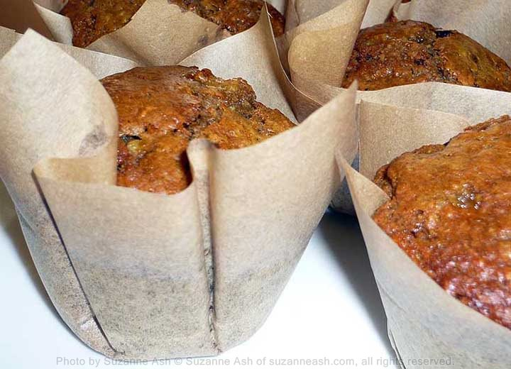 Fruit & Oat Muffins