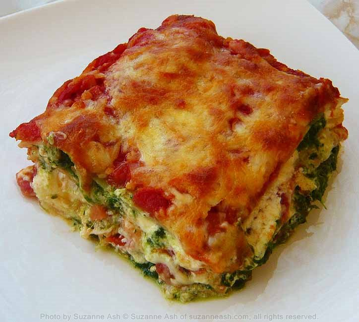 Spinach Lazagne