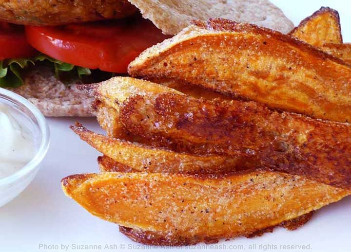 Salt & Pepper Sweet Potato Wedges