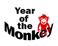 Year of the monkey!